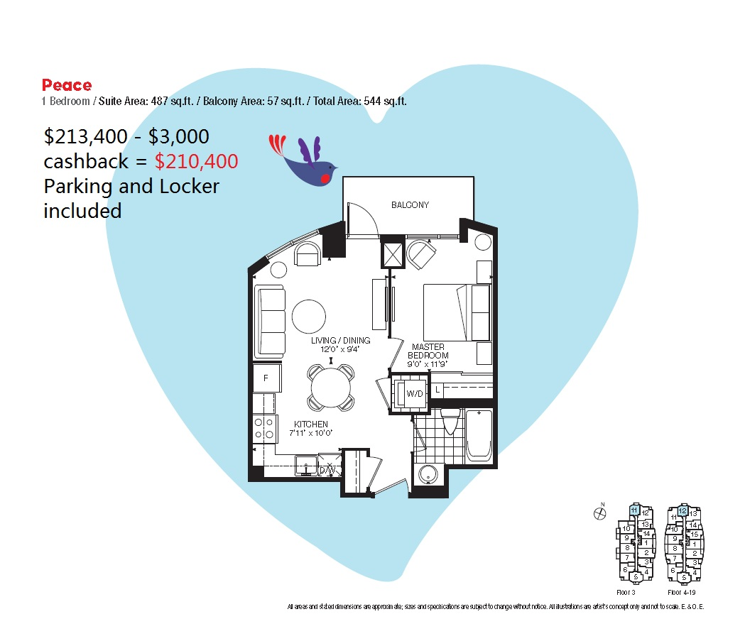 Free home plans floor plans condo for Condo plans free