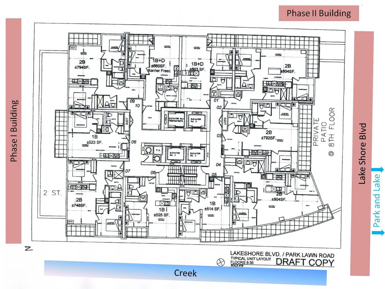 Phase 3 Floor Plan Toronto New Condos