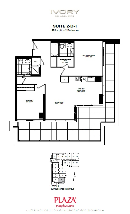 Ivory condo floorplans toronto new condos for Ivory home plans